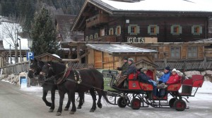 Horse drawn sleigh rides with Salzburg Snow Shuttle